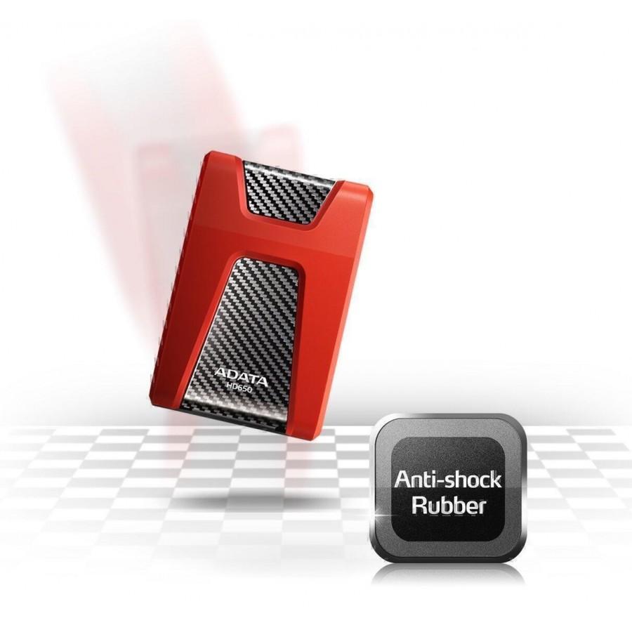 HDD Хард диск ADATA DashDrive Durable HD650 външен