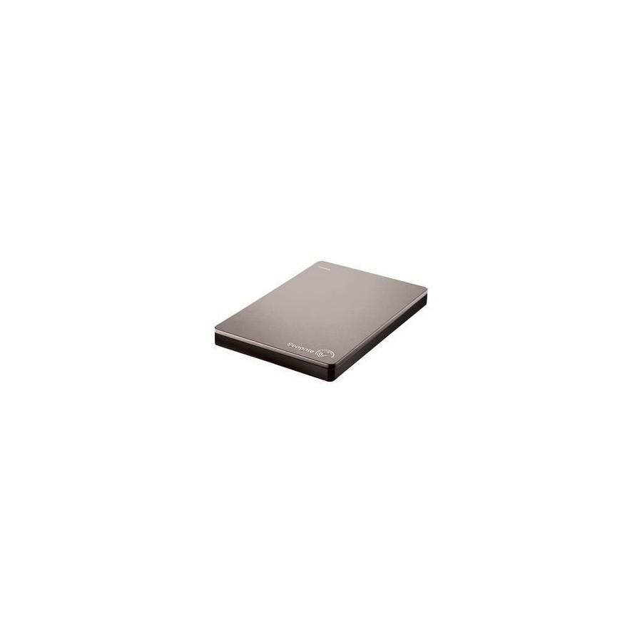 Външен хард диск Seagate Backup Plus Slim 1TB Сив Цвят