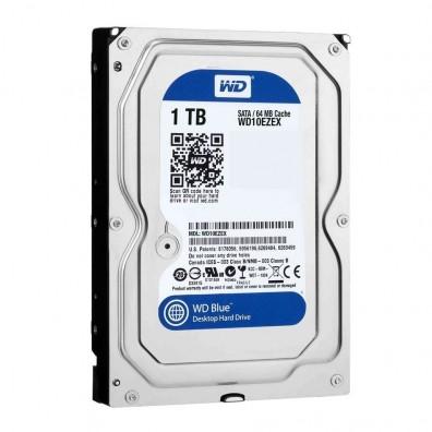 HDD Хард диск 1TB WD Blue 3.5' SATAIII 64MB 7200rpm
