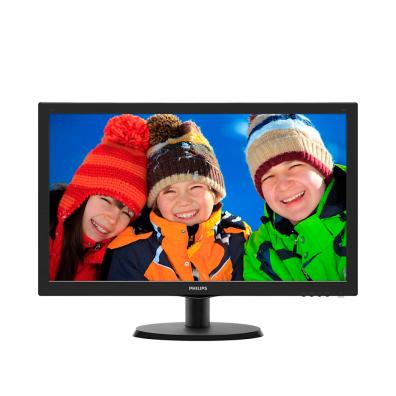 Монитор Philips 21.5' Slim LED 1920x1080 FullHD 16:9