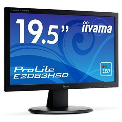Монитор iiyama ProLite E2083HSD-B1 19.5 Черен HD ready LED