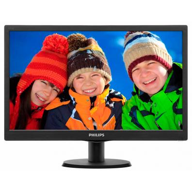 Монитор Philips 18.5' Slim LED 1366x768 HD 16:9