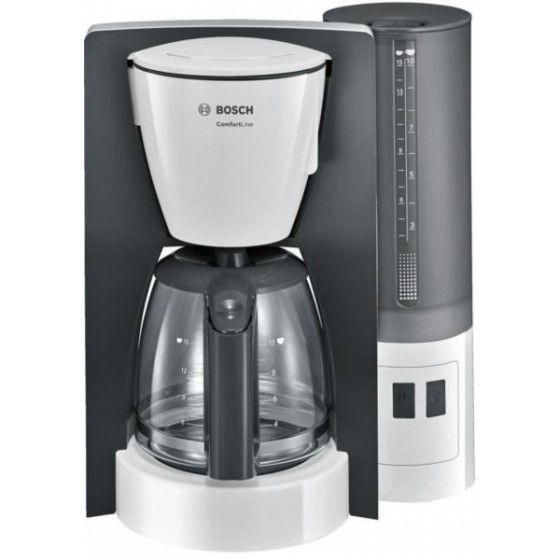 Кафемашина за шварц кафе Bosch ComfortLine TKA6A041,  Сив/Бял