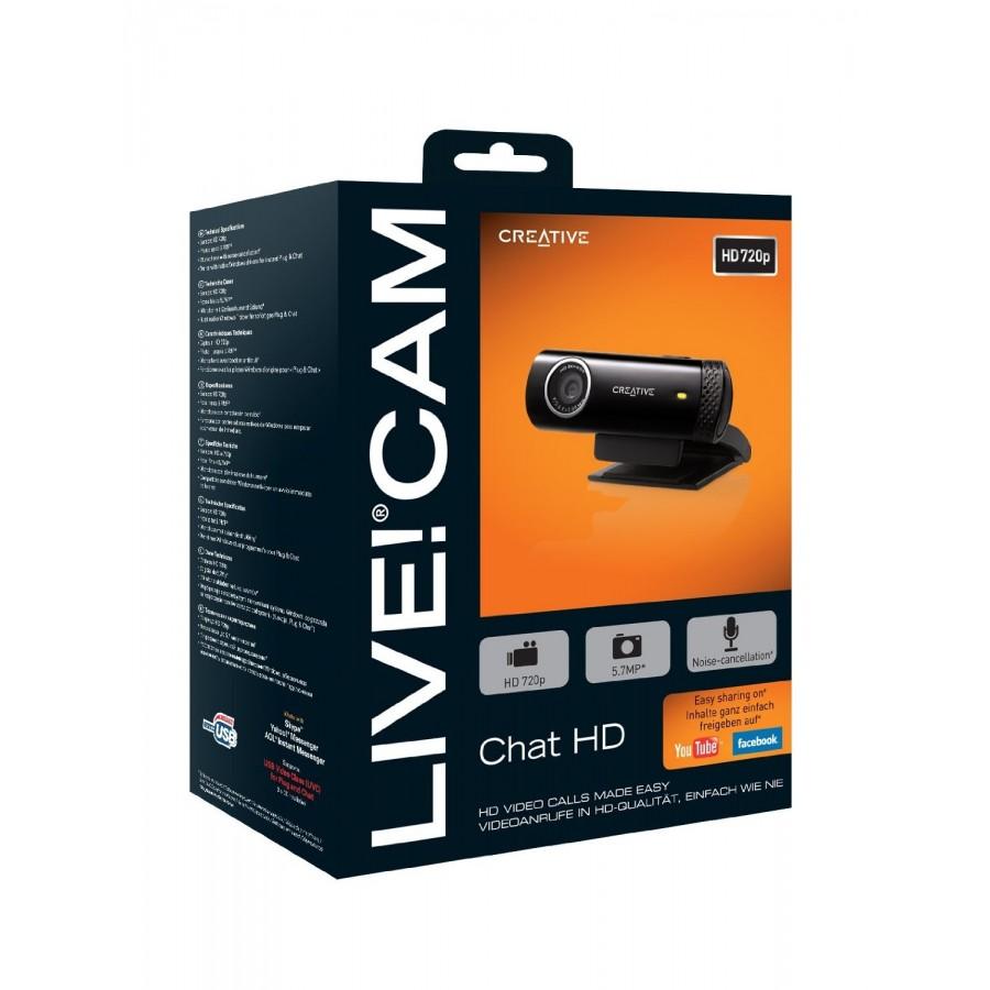 Уеб камера Creative Labs Live! Cam Chat HD