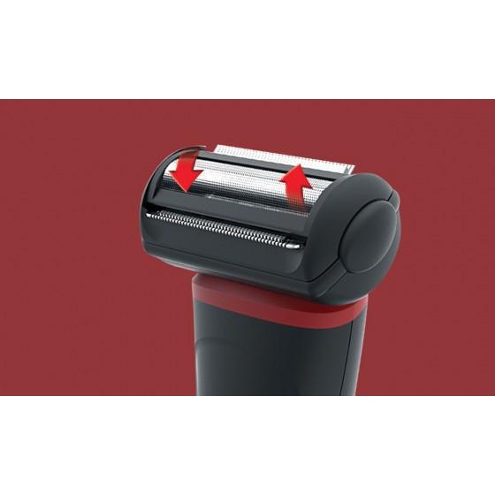 Тример за тяло Remington FLEX BHT100, неръждаема стомана, водостойчив, работи с батерии