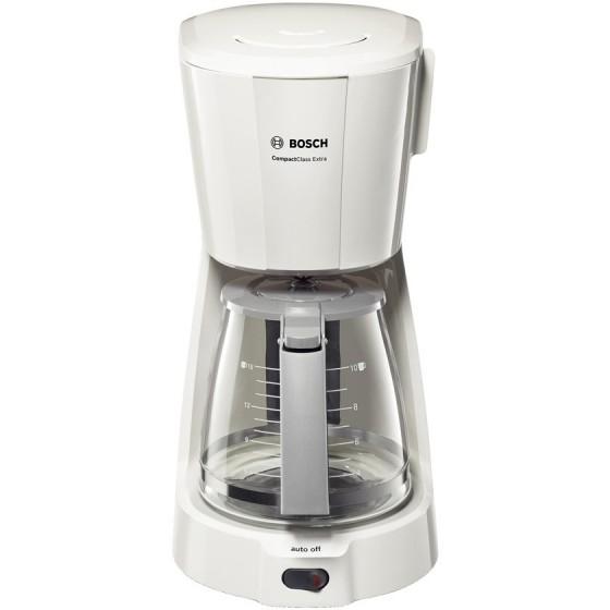 Кафемашина Bosch TKA3A031 - CompactClass Extra, бял/светлосив