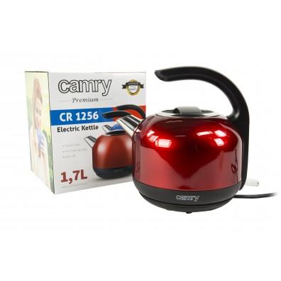 Електрически чайник Camry CR 1256r, 2000W, 1.7 l, Червен