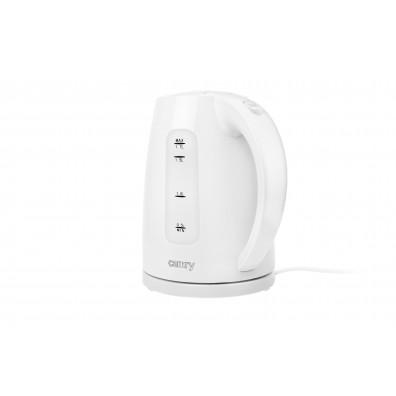 Електрическа кана Camry CR 1255w, 2200W, 1.7 l, Бял