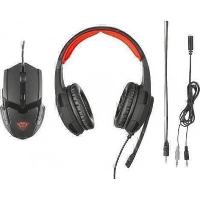 Геймърски слушалки Trust GXT 784 с подарък геймърска мишка