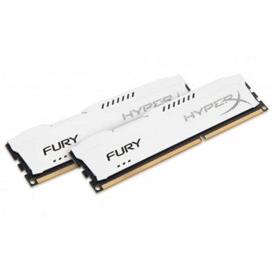 RAM памет Kingston Technology HyperX FURY White 16GB 1600MHz DDR3