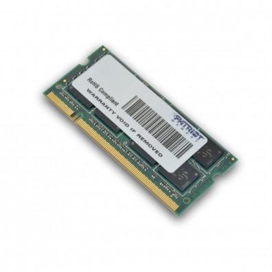 RAM памет Patriot DDR2 2GB CL5 PC2-6400 (800MHz) SODIMM (PSD22G8002S)