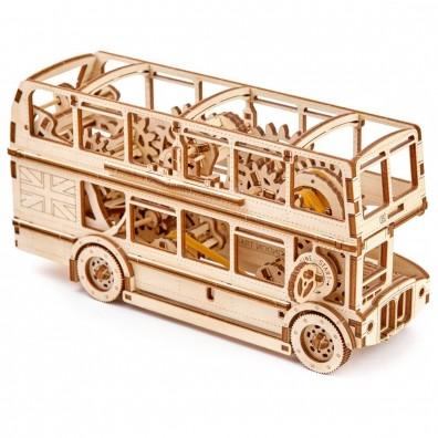 3D Пъзел Wooden city Автобус (London Bus) wooden