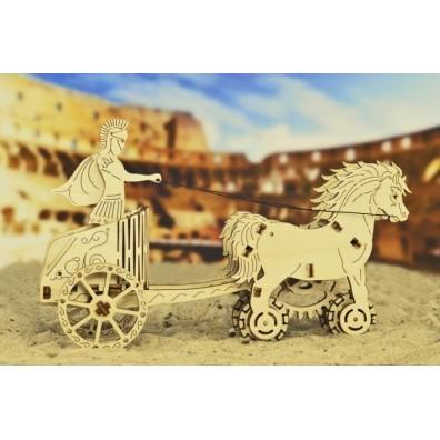 3D Пъзел Wooden city Римска колесница (Roman Chariot) wooden