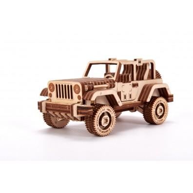 3D Пъзел Wood Tricks Сафари кола (Safary Car 4×4)