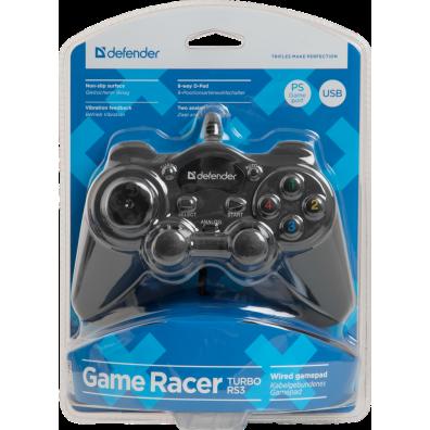 Геймпад Defender Game Racer Turbo RS3