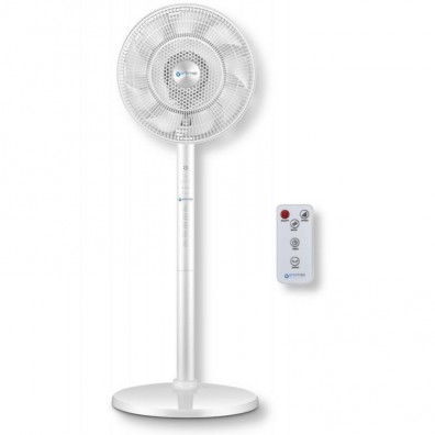 Вентилатор със стойка Oromed oro-electric fan, 60W, Бял, Дистанционно, 3 степени и 3...