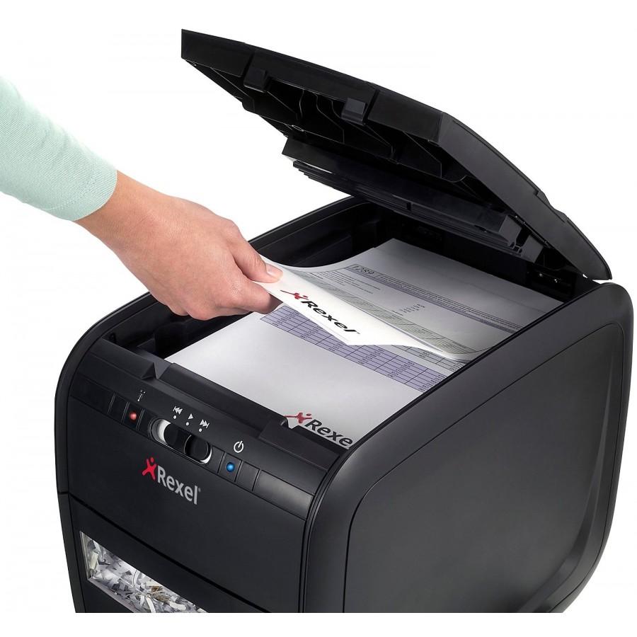 Шредер за документи Rexel Auto + 60X