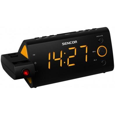 Радио часовник Sencor SRC 330 OR