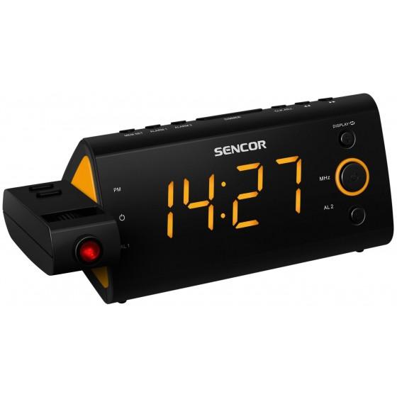 Радиочасовник Sencor SRC 330 OR