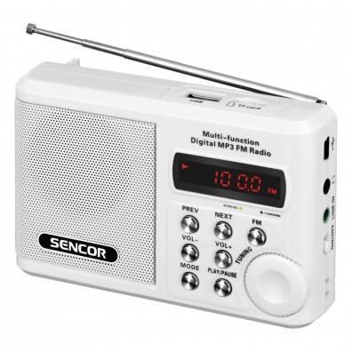 Радио приемник Sencor SRD 215 W