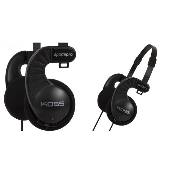 Слушалки KOSS Sporta Pro, USB, Кабел: 1,2м., Черни