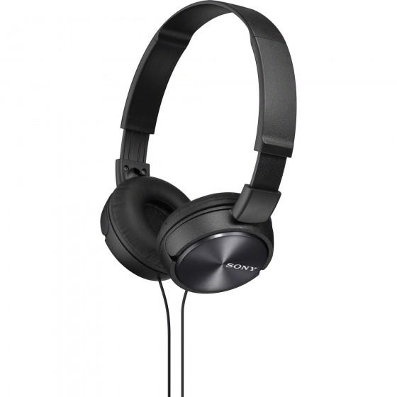 Слушалки Sony ZX310AP, черни