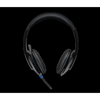 Logitech H540 981-000480 Black Слушалки с микрофон