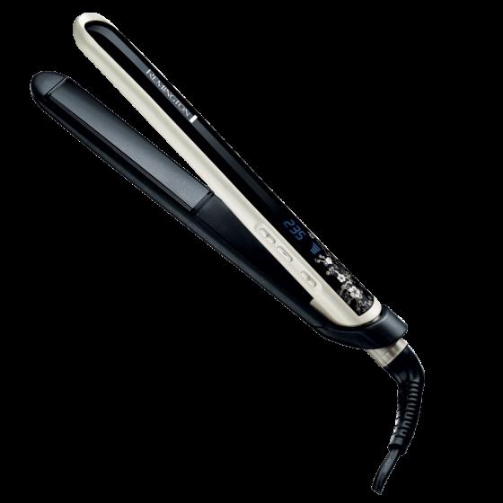 Преса за коса Remington S9500 Pearl, Перлено керамично покритие, Бързо загряване, 150-235°C