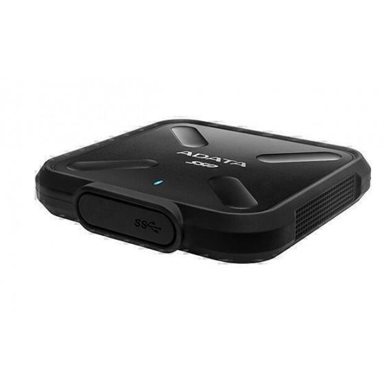 Преносим хард диск SSD SD700, 1TB, USB3.1, Черен, Водоустоичив, 3D TLC