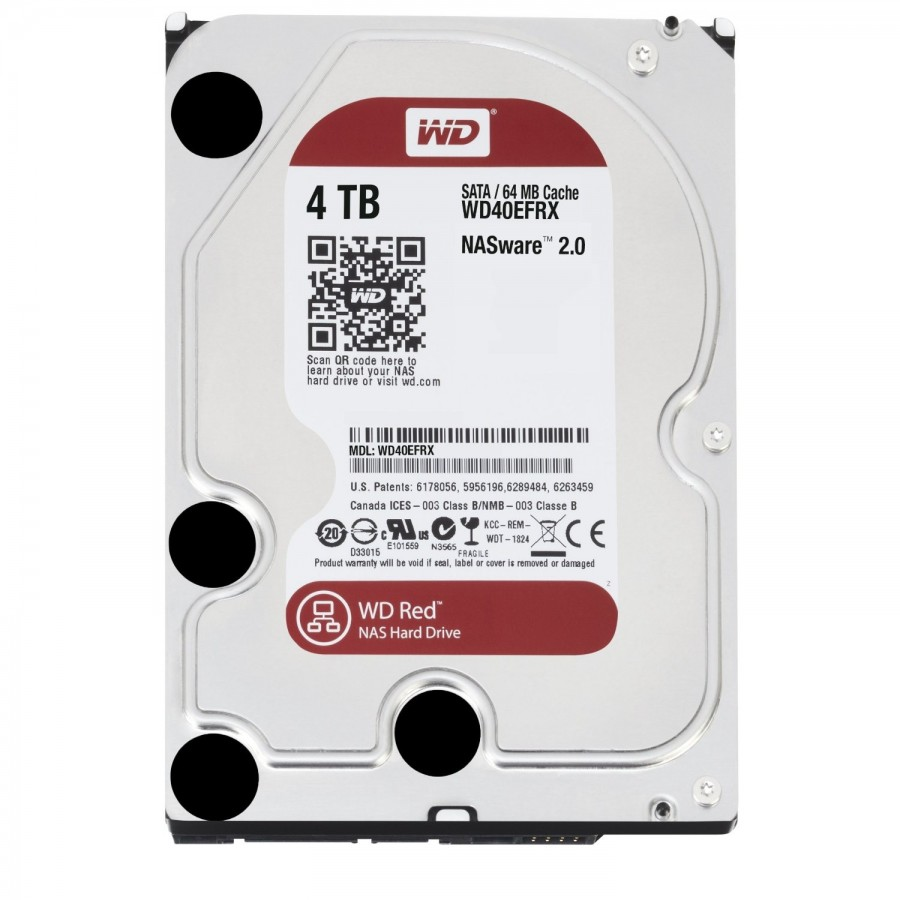 HDD Хард диск 4TB SATAIII WD Red 64MB for NAS 3г. Гаранция