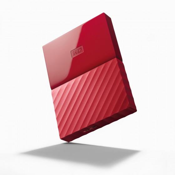 HDD Хард диск 1TB USB 3.0 MyPassport Red