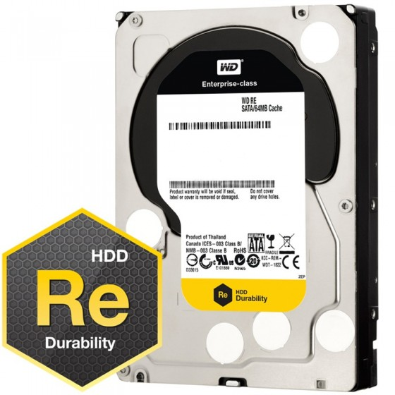 HDD Хард диск 500GB SATAIII WD RE 7200rpm 64MB for servers (5 years warranty)