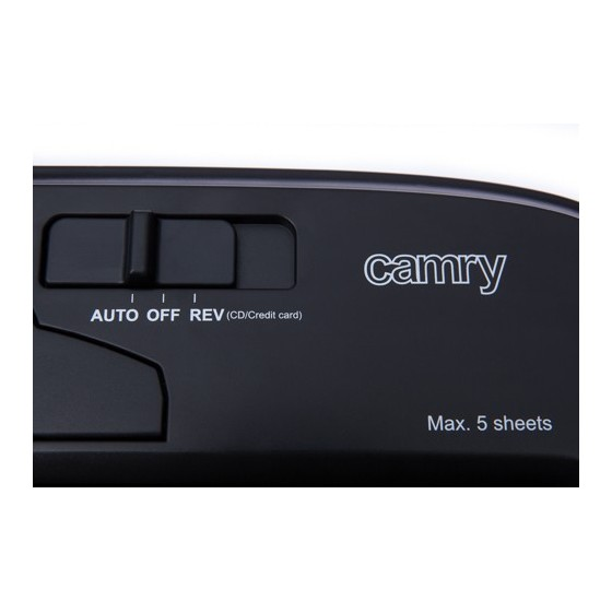 Шредер за хартия Camry CR 1033