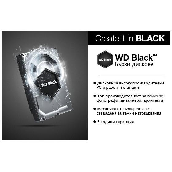 HDD Хард диск 500GB WD Black 2.5' SATAIII 32MB 7200rpm 7mm slim (5 years warranty)