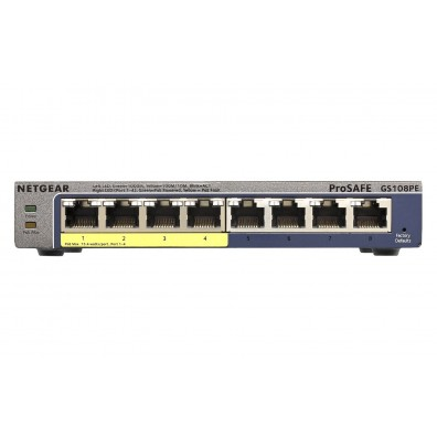 Мрежов суич Netgear GS108PE