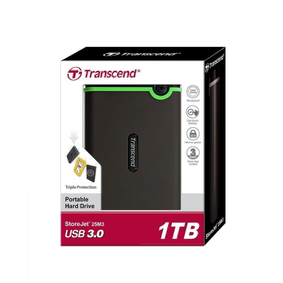 Външен хард диск Transcend StoreJet 25M3