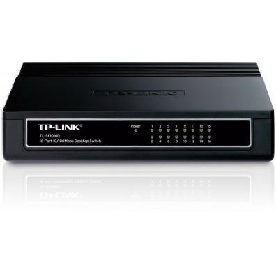 Мрежов суич TP-LINK 16-Port 10/100Mbps