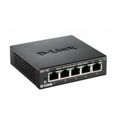 Мрежов суич D-Link DES-105