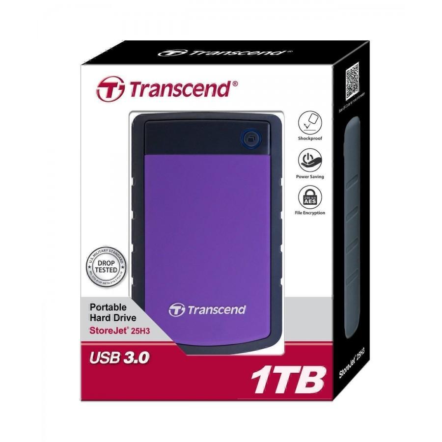 Transcend StoreJet TS1TSJ25H2P  външен хард диск